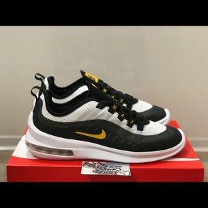Nike Air Max Axis Black Yellow Running Vapormax